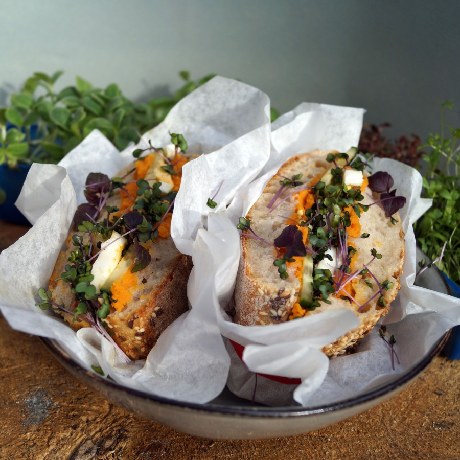 Picknick sandwich
