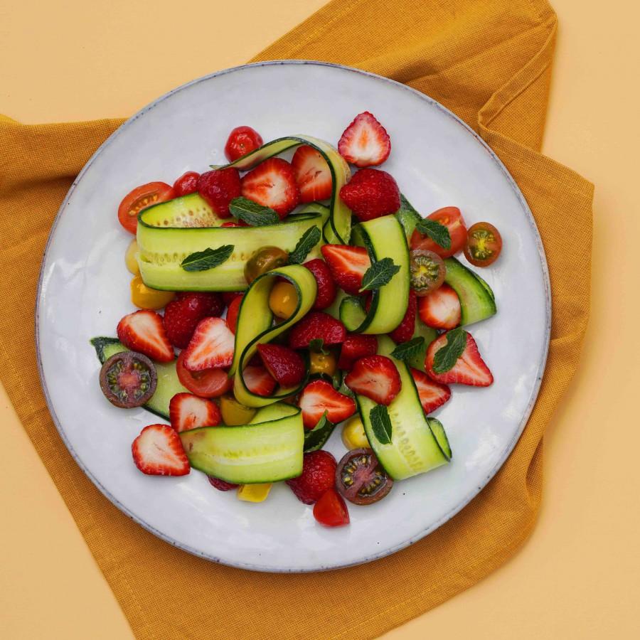 Salade aardbei