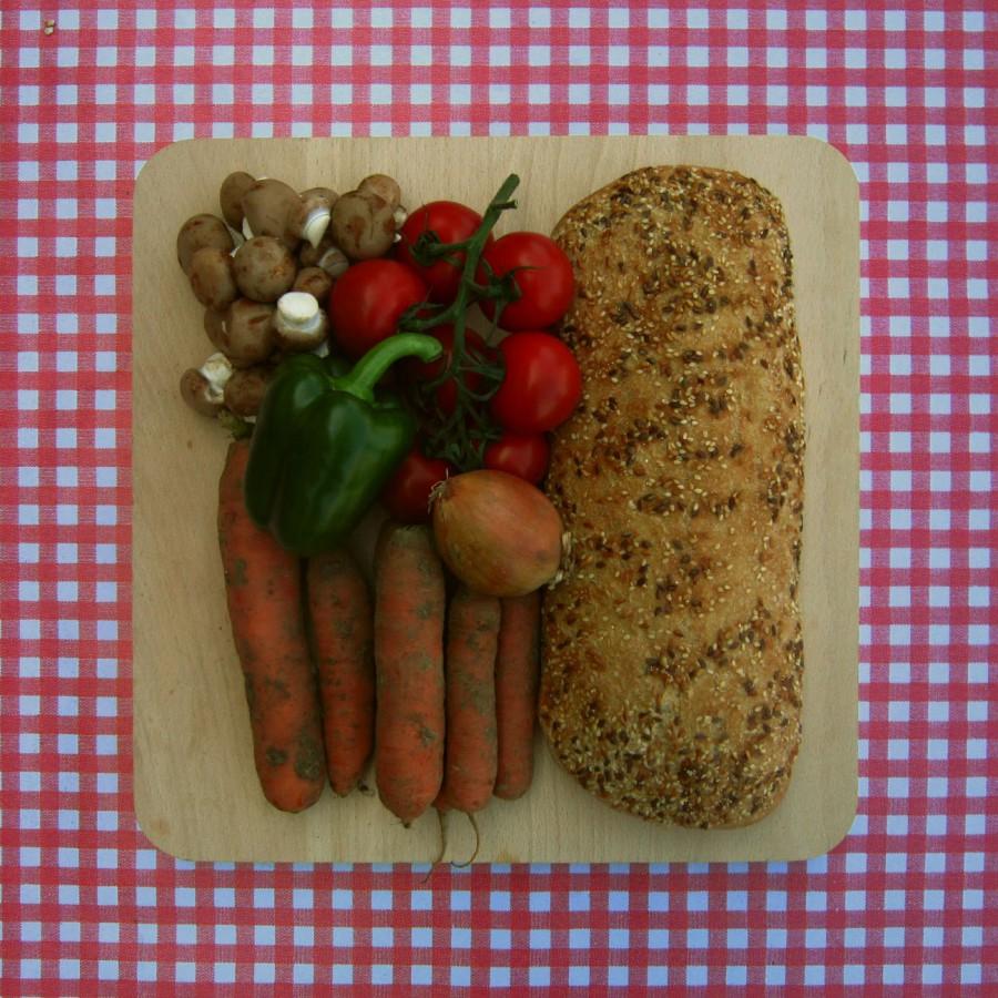 Stoofpotje met champignons en wortel