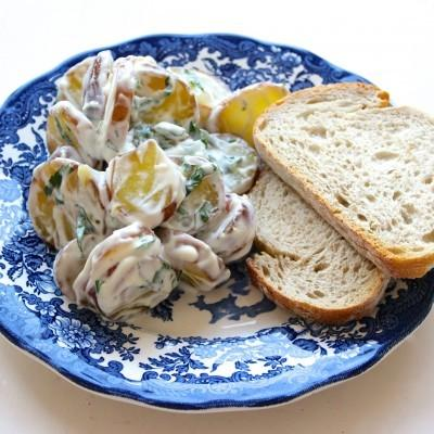 Hoeksche aardappelsalade