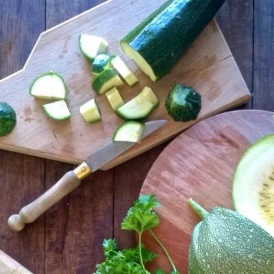 Courgettesoep met kruiden