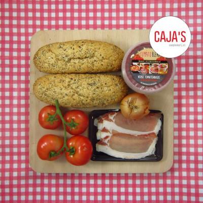 Caja's tomatensoep met bacon