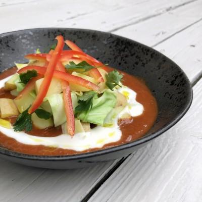 Curry met kool en aardappel