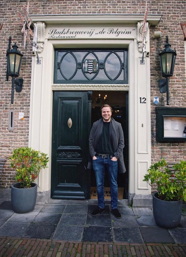 Bas Radder van Brouwerij de Pelgrim