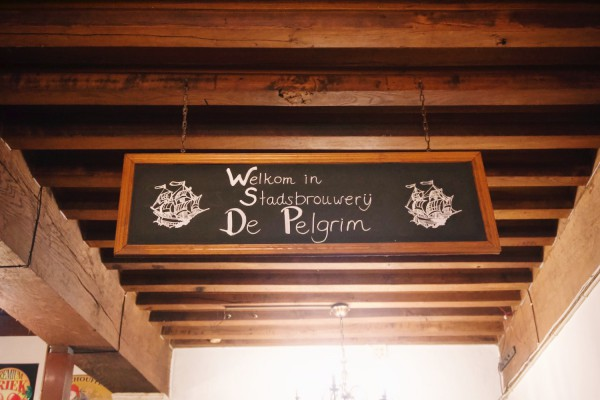 Welkom in stadsbrouwerij de Pelgrim Rechtstreex